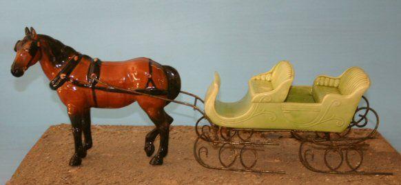 #641 Dobbin in bay with #658 bob sleigh in yello