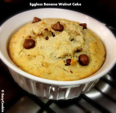 Recipe sugarless banana walnut cake