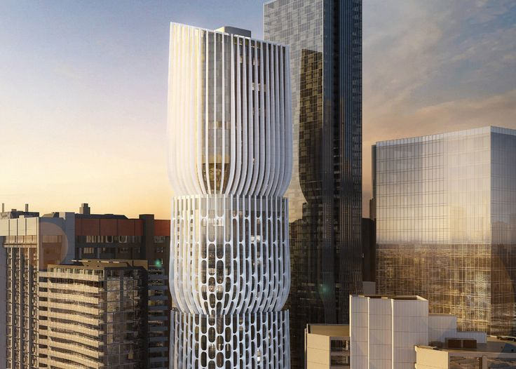 Zaha Hadid's first Melbourne tower unveiled