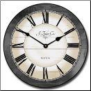 Caroline Gray Wall Clock (SKU: JTC-CARLGR)
