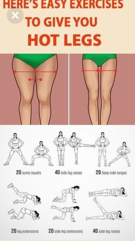 Sie brauchen nur 10 Minuten am Tag, um das hartnäckige Fett an den Oberschenkeln loszuwerden