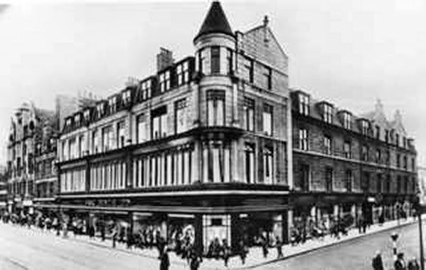Isaac Benzie's, George Street. Opposite what is now John Lewis.