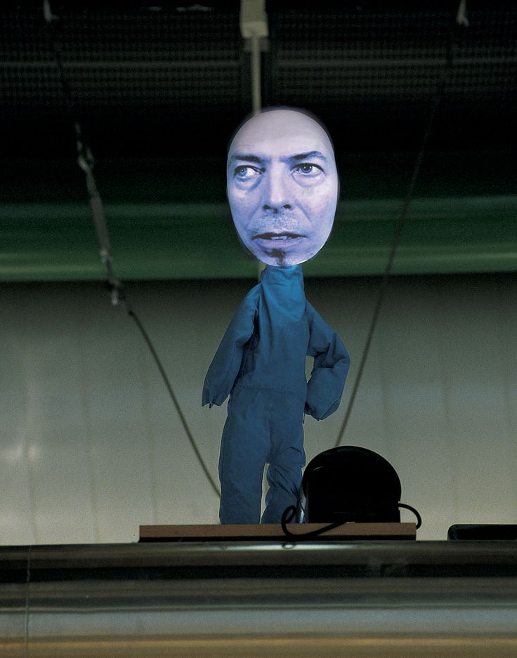 TONY OURSLER  Open Obscura    A prelude to Bowie's clip?