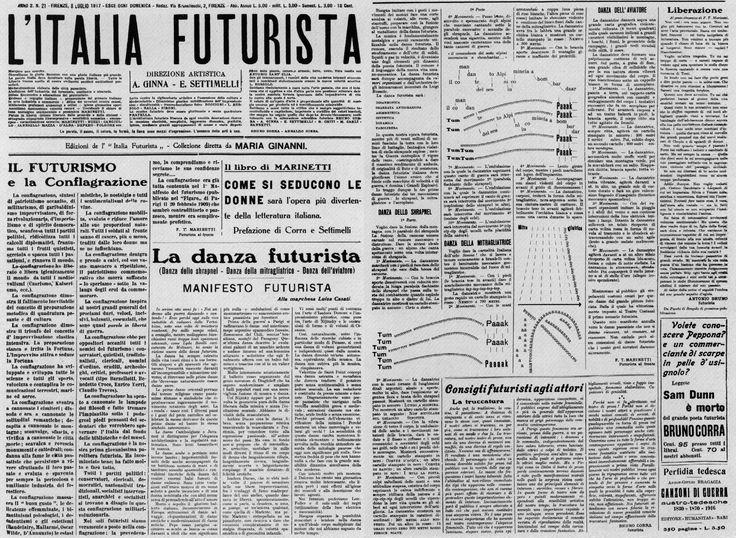 Manifesto della Danza Futurista