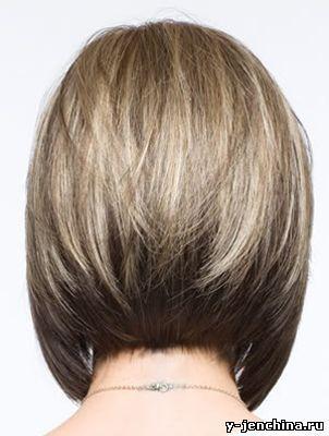 фото причёски на удлинение с челкой
