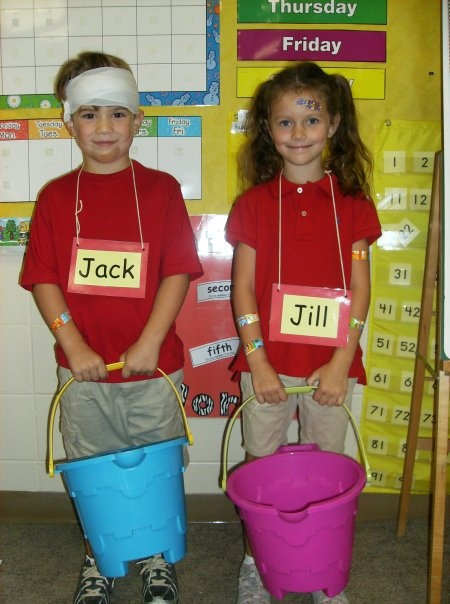 Jack and Jill; Ethan and Liviah class party
