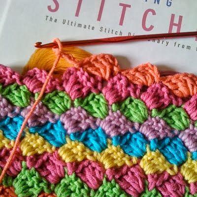 diagonaal haken - diagonal crochet | Bees and Appletrees | Bloglovin'