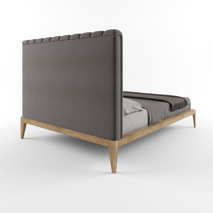 Кровать GRAND VELLA от HBMart - массив дуба с покрытием из льняного масла и пчелиного воска