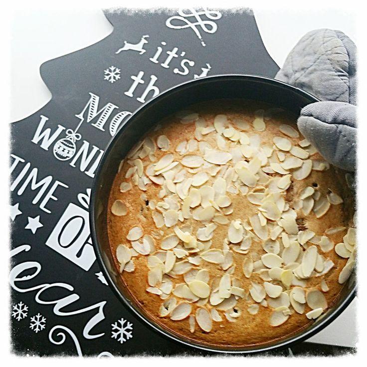 gezond kerstbrood met zelfgemaakt amandelspijs