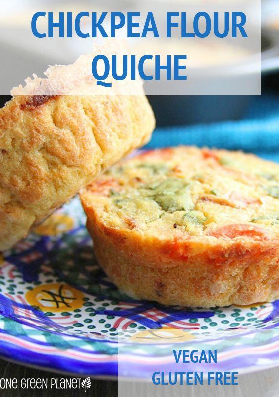 http://www.onegreenplanet.org/vegan-recipe/chickpea-flour-quiche/  #vegan…
