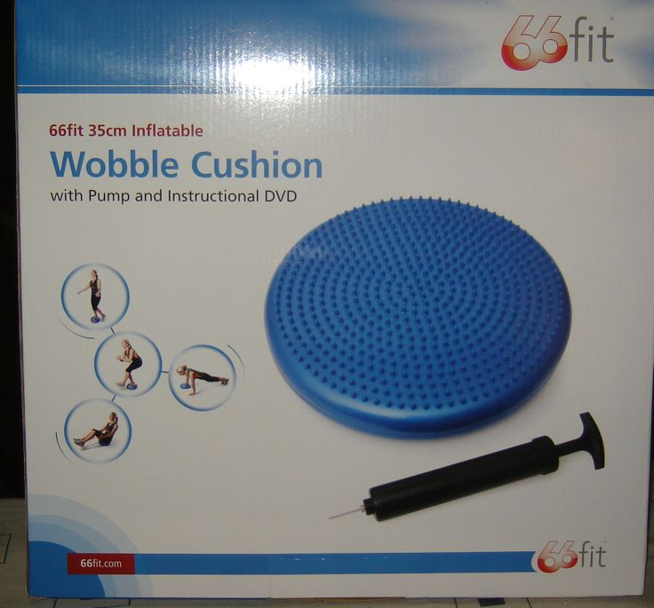 Wobble Cushion: has lumps and bumps which provide sensory input and help children and adults sit still and concentrate.