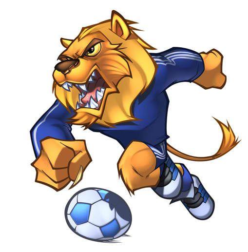 lion mascot design - Szukaj w Google