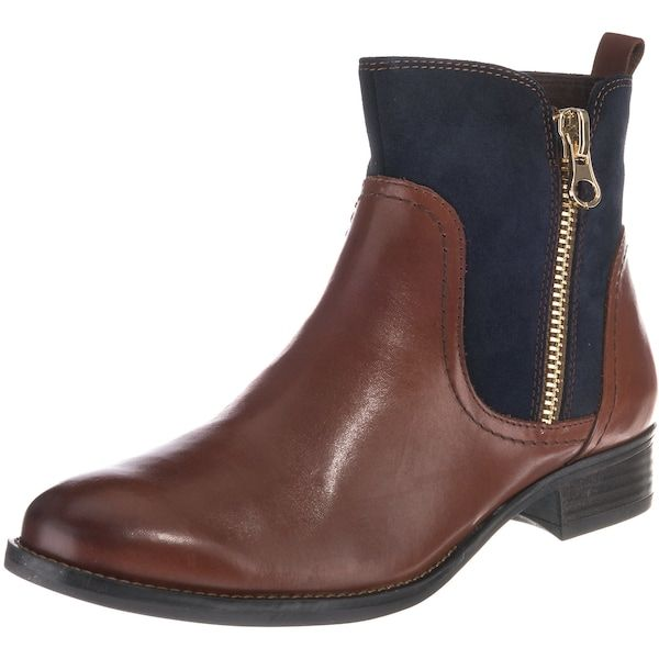 more photos 1052f 71f93 CAPRICE Stiefeletten blau braun #schuhe #fashion #shoes ...