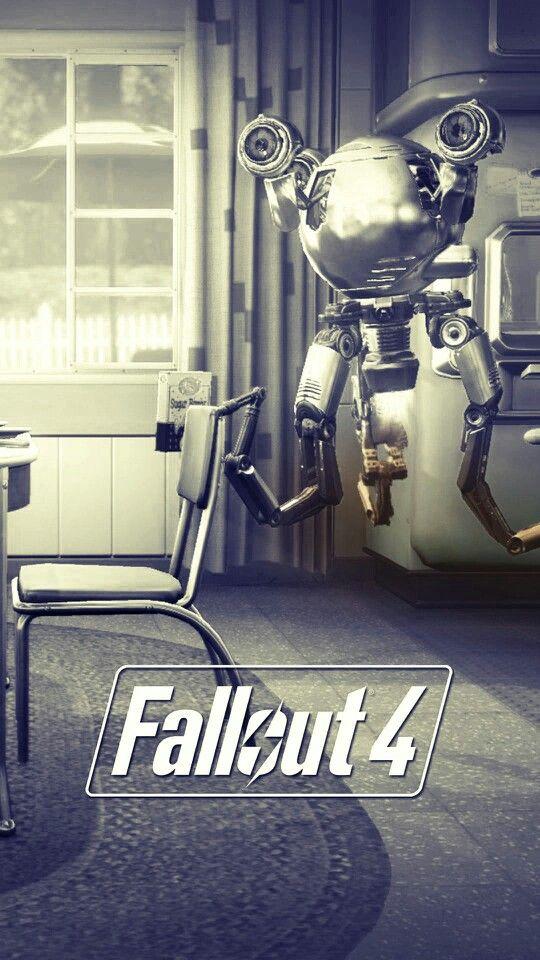 Fallout 4 - codsworth. Love him <3
