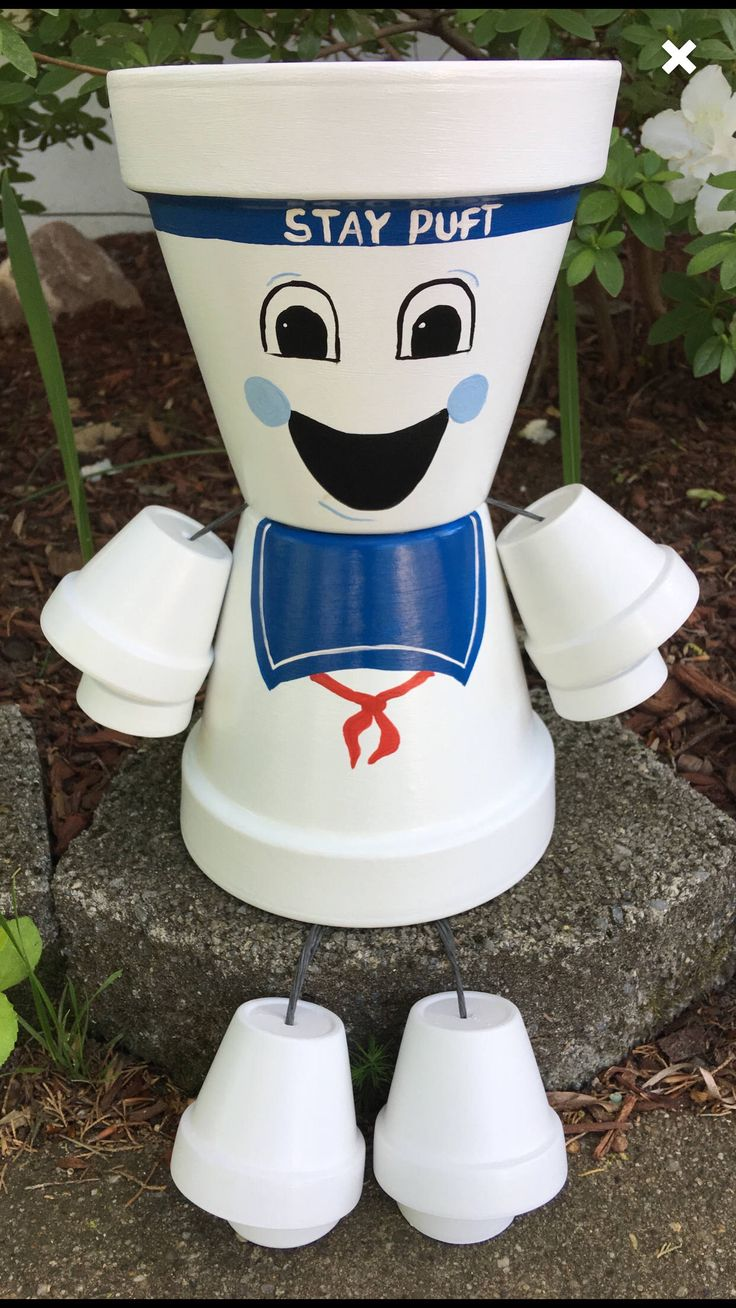 how to make stay puft marshmallow man
