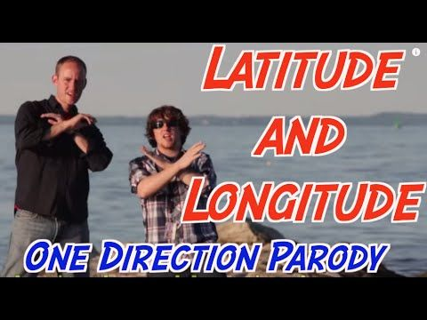 This is a super catchy song (remix from One Direction) that explains what latitude and longitude are and why they are important.