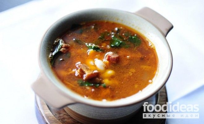 Фасолевый суп в мультиварке - рецепт приготовления с фото | FOODideas.info