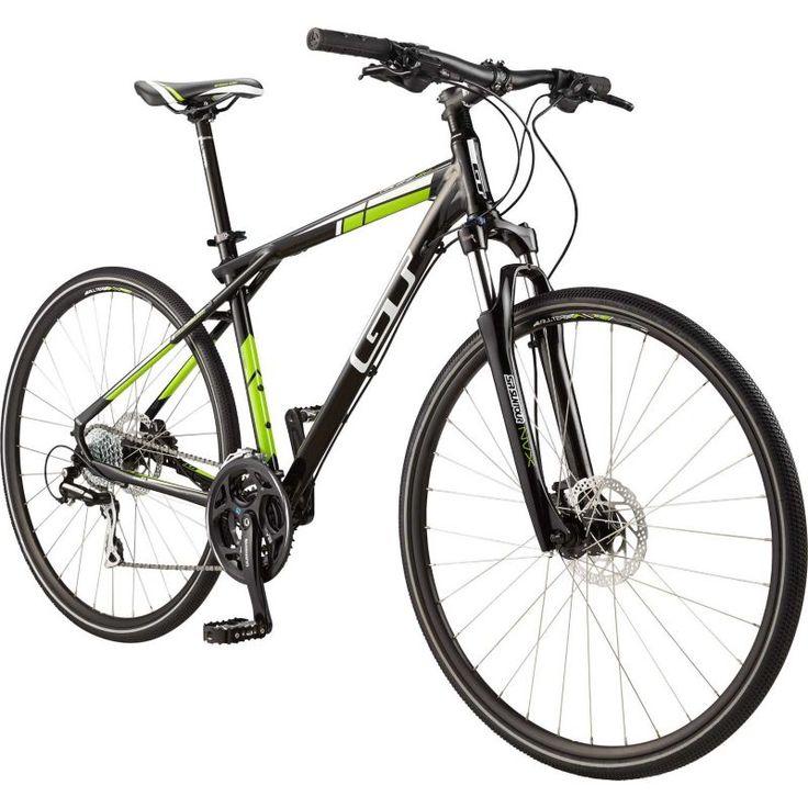GT Adult Talera 3.0 Hybrid Bike, Black