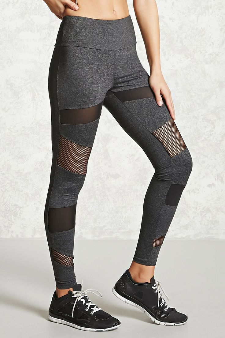 Best 25 sports leggings ideas on pinterest fitness fashion a pair of knit athletic leggings featuring sheer mesh and perforated panels an elasticized waist sciox Images
