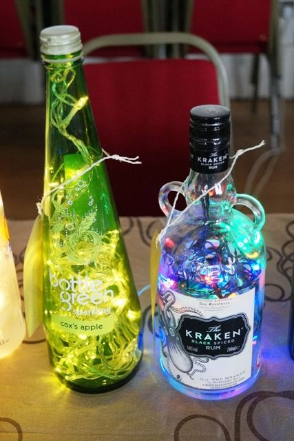 How fabulous and wonderful are these #handmade bottle lamps?  Christopher of @lushlights can turn your favourite tipple bottle into one of these.  These where on display at our July 26th artisan market @TheFlorrie