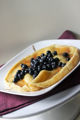 ... to crepes or pancakes on a weekend morning... perfect for two
