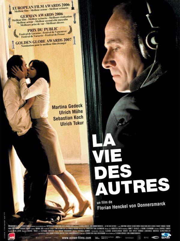 LA VIE DES AUTRES, de Florian Henckel Von Donnersmarck, Ed. TF1 - 2013