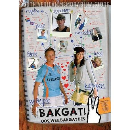 Bakgat 2 - Andrew Thompson / Ivan Botha South African Afrikaans Comedy DVD *New* - South African Memorabilia Store