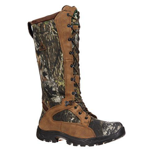 1570 Men's WP Snake Proof Hunting Rocky Boots - Mossy Oak - 7.0M - http://authenticboots.com/1570-mens-wp-snake-proof-hunting-rocky-boots-mossy-oak-7-0m/