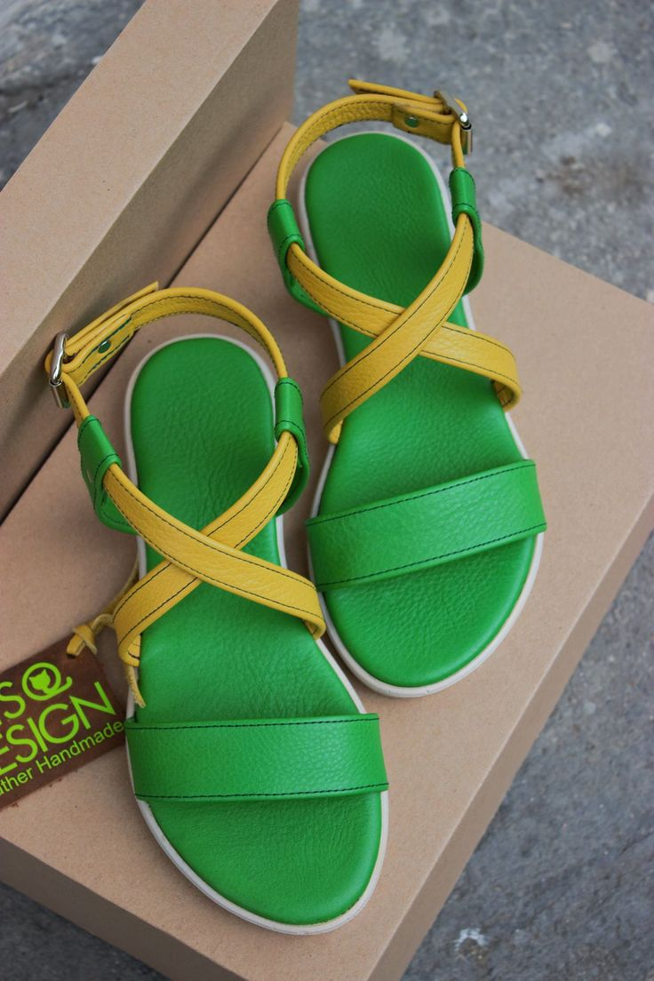 Handmade Leather Sandals Made in Cluj Napoca Romania