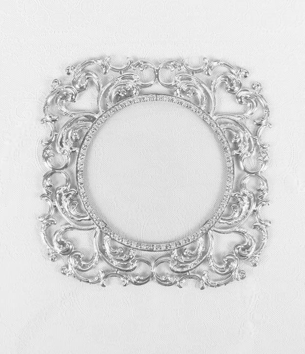 Underplate Sultan silver