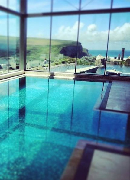 Enjoy Cliff Top Hot Tubs At The Scarlet 4 Hotel In Cornwall It Doesn T Get Much Better Than That Next Trip Pinterest Reservations