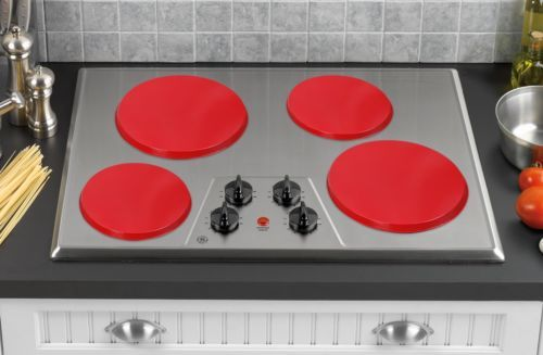 4 Set kitchen Electric Stove Top Burner Covers Household Accessory