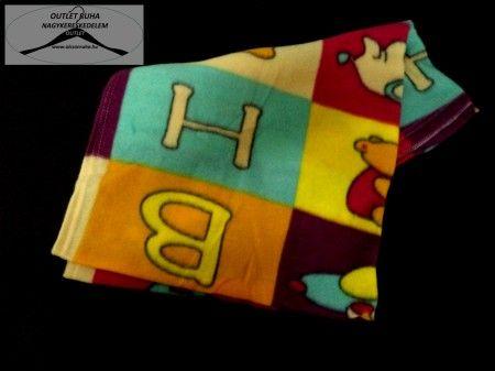 10 Darabos bébi takaró 80x110-es méretben 1 fajta mintával 100% Polyester (53430)