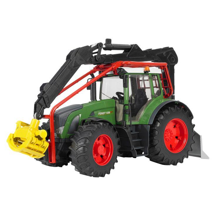 Bruder Fendt 936 Vario Forestry Tractor