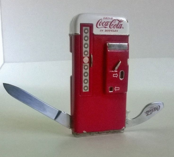 Coca Cola Herloom Collection Franklin Mint Pocket Knife By