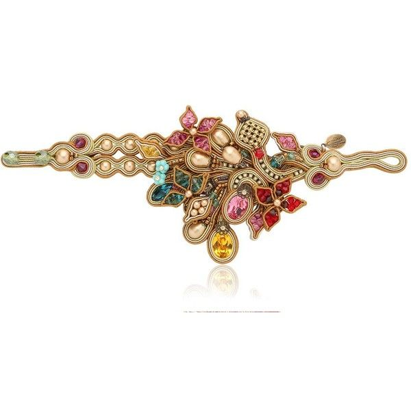 DORI CSENGERI Baroque Bracelet ($879) ❤ liked on Polyvore featuring jewelry…
