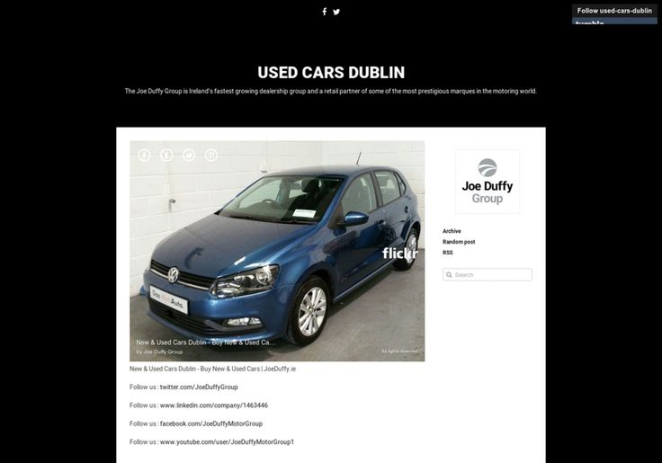 Used Cars Dublin Infographic