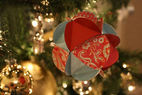 patterns for a bunch of paper Christmas decorations