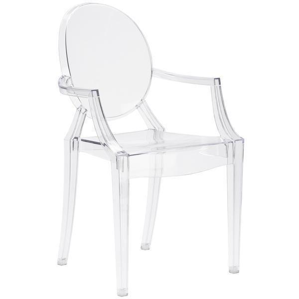 Burton Arm Chair | Clear