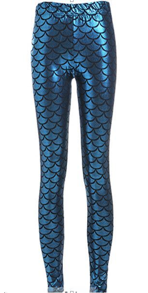 Mermaid Goddess Leggings