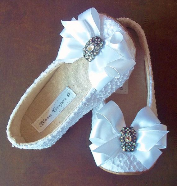1000  ideas about Flower Girl Shoes on Pinterest  Bridesmaid ...