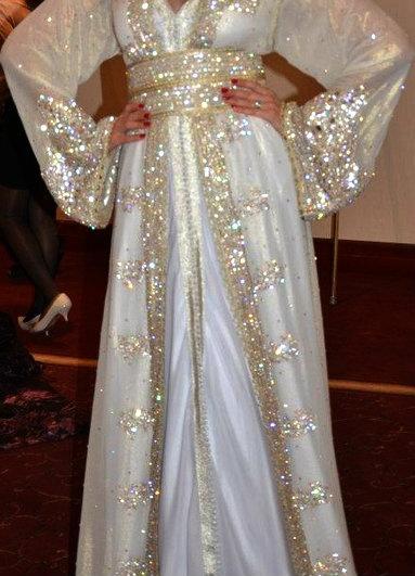 17 best images about caftans on pinterest hijabs kaftan for White kaftan wedding dress
