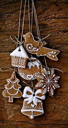 Mézeshetek / Gingerbread / Biscotti speziati // Dolce far niente