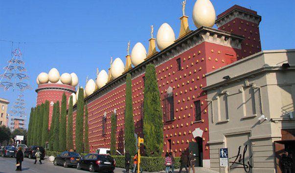 Театр-музей Сальвадора Дали . Коста Брава/ Испания