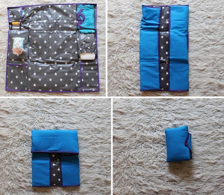 Yva R.: Anleitung für einen mobilen Wickeltisch inkl. Schnittmuster