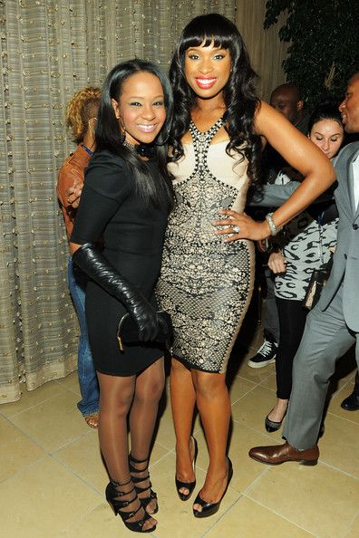 Bobbi Kristina Brown & Jennifer Hudson at 53rd Annual GRAMMY Awards - Salute To Icons Honoring David Geffen
