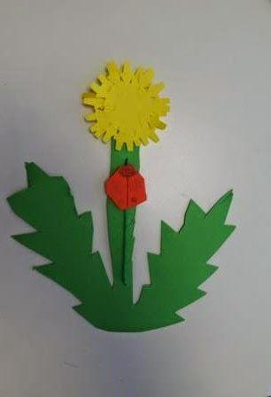 Ber ideen zu l wenzahn kindergarten auf pinterest - Pusteblume basteln ...