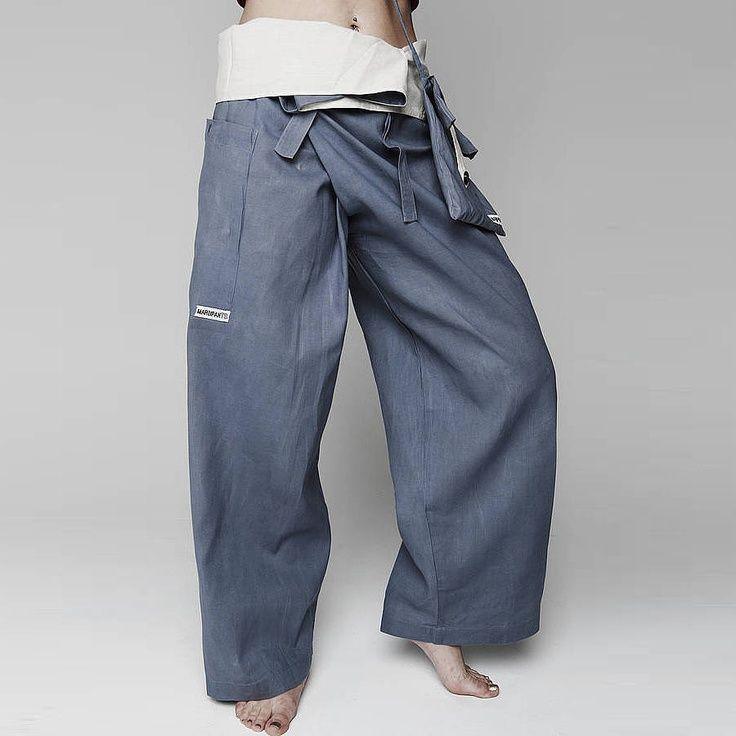 Men S Thai Fisherman Wrap Yoga Pants Asher S Board