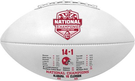 Alabama Crimson Tide Football - Full Size - 2016 College Football Playoff National Champion