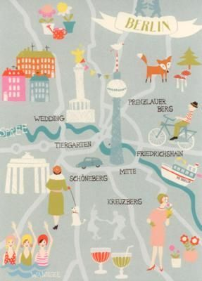 WENDEKREIS Berlin Berlin Postkarte